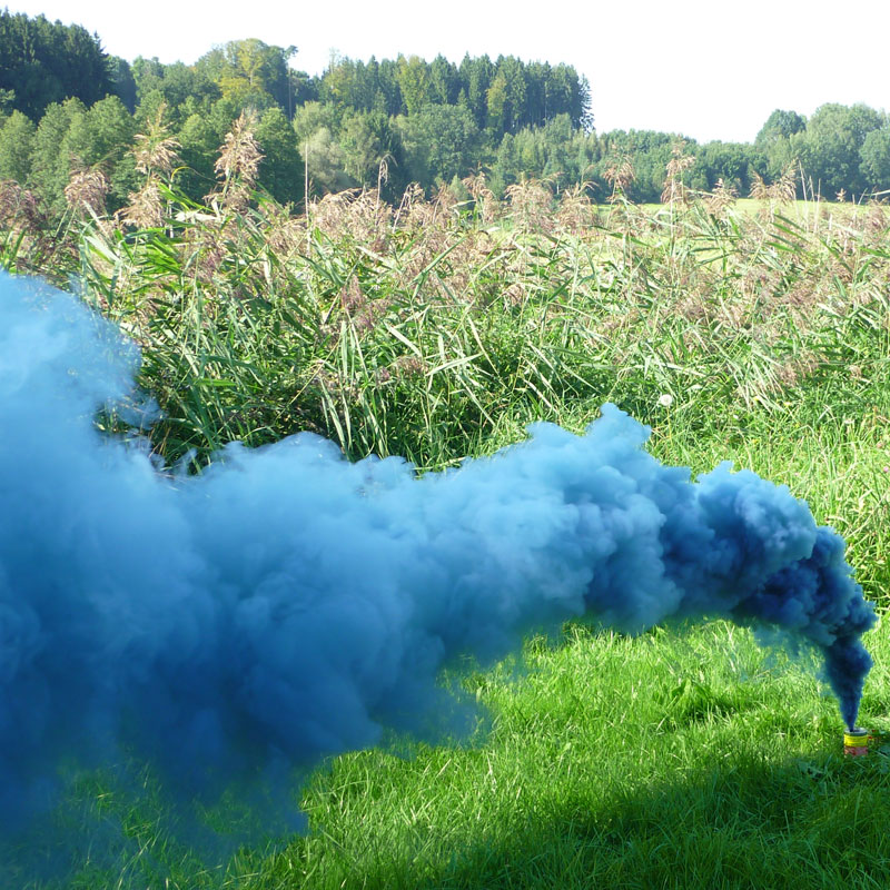 Mr. Smoke 3 Blau - Bild 1